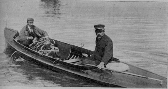 1900 Motor boating Aiglon