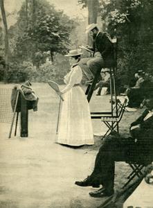 1900 Tennis Charlotte Cooper