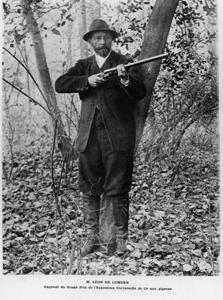 1900 de Lunden Belgium live pigeon shooting