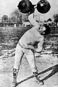 1904 weightlifting one hand