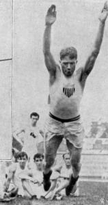 1906 Standing long jump Ray Ewry USA