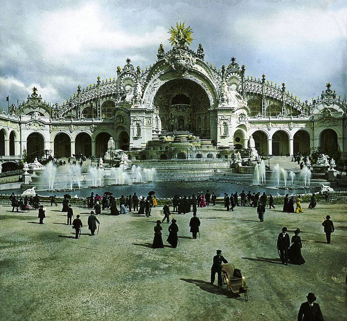 1900 Paris Exposition Palace of Electricity